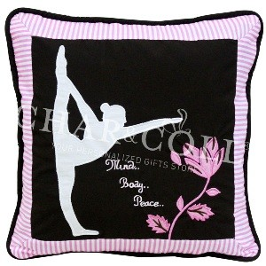 Cushion Yoga Silhouette