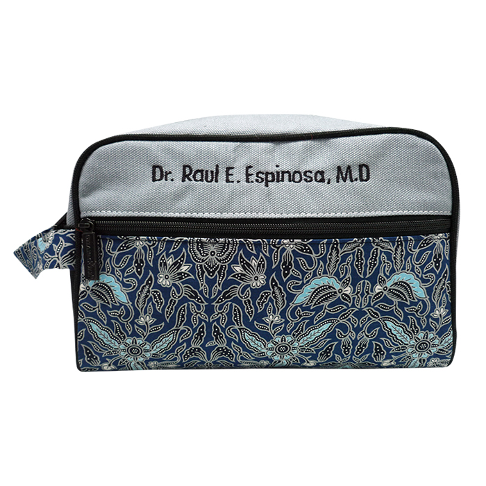 Dixie Toiletries Bag – Batik