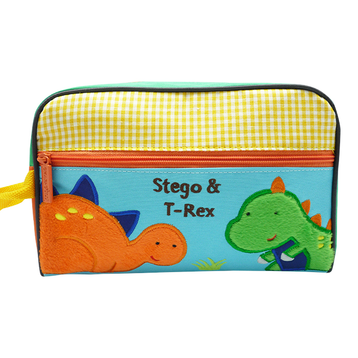 Dixie Toiletries Bag – Stegosaurus & T-Rex