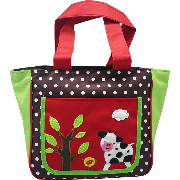 Japanese Tote Bag – Barnyard Red