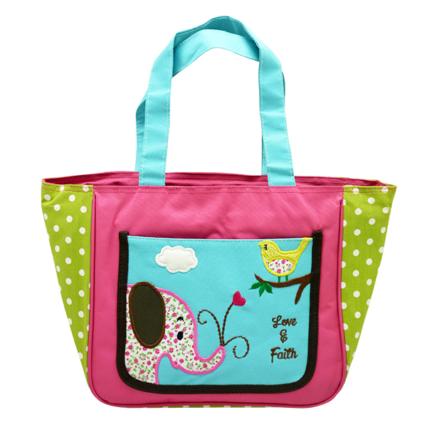 Japanese Tote Bag – Flower Elephant