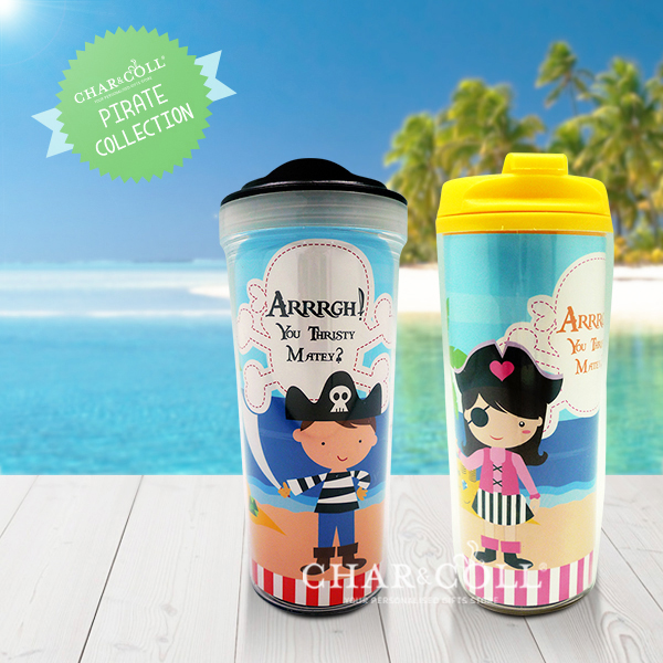 Tumbler Bottle Pirates