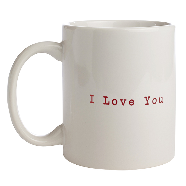 Coffee Mug – I Love You