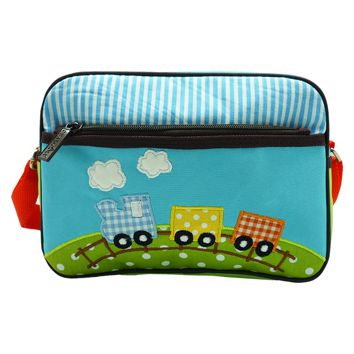 Natalia Sling Bag- Choo Choo Train Blue