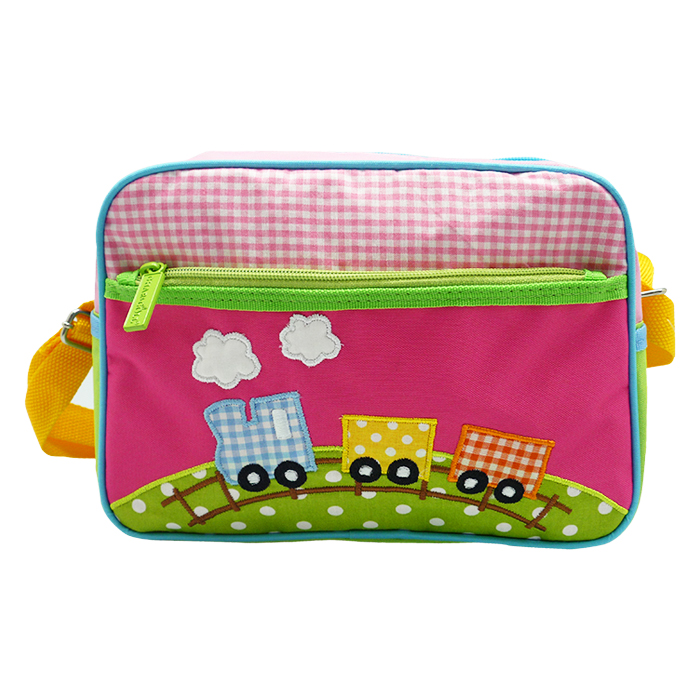 Natalia Sling Bag- Choo Choo Train Pink