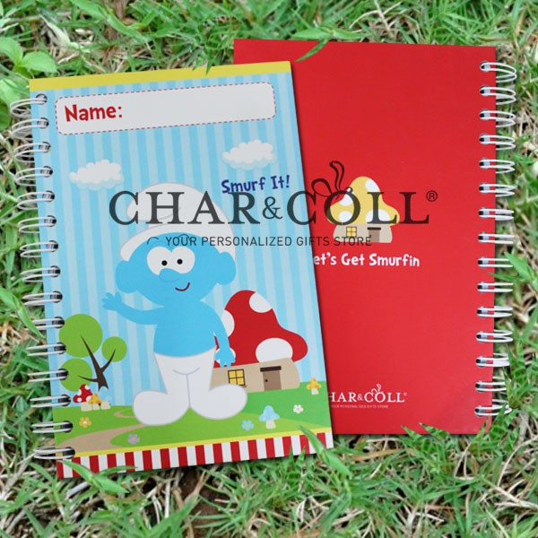 Notebook Smurfs