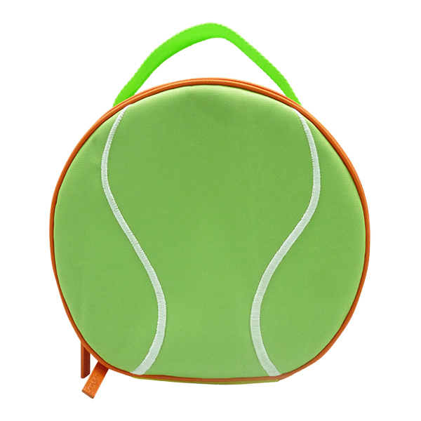 Round Lunch Bag – Tennis