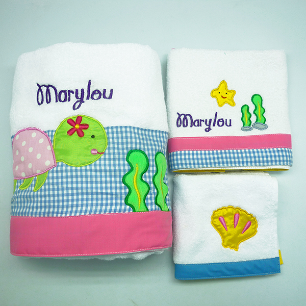 Towel Set – Turtle Pink