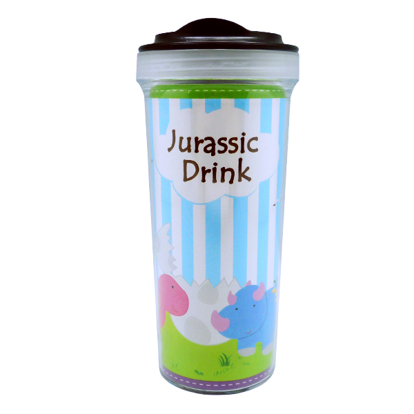 Tumbler Bottle Dino Jurassic Drink
