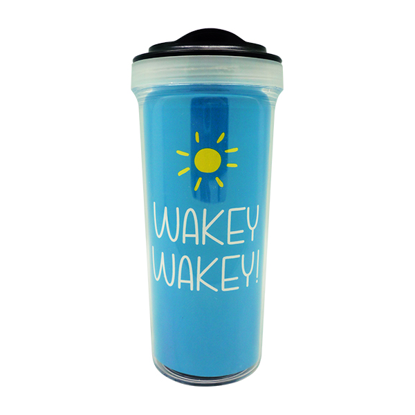 Tumbler Bottle Wakey Wakey