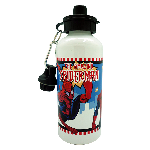 Sport Aluminium Bottle – Spiderman