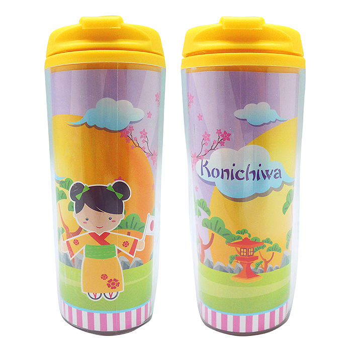 Tumbler Bottle Japanese Girl