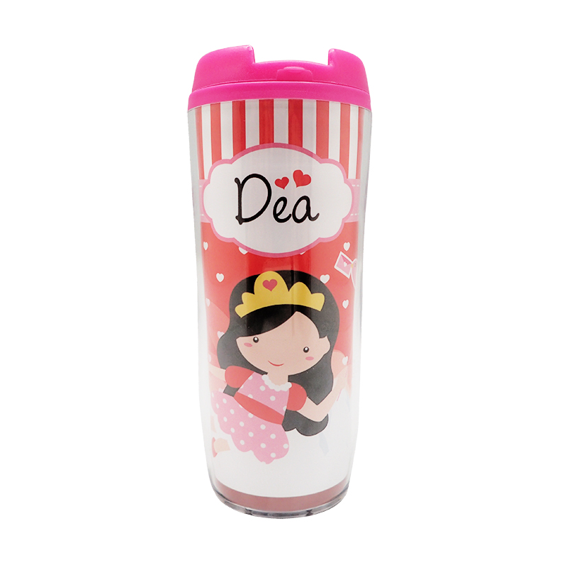 Valentine Tumbler Bottle Red Amelia