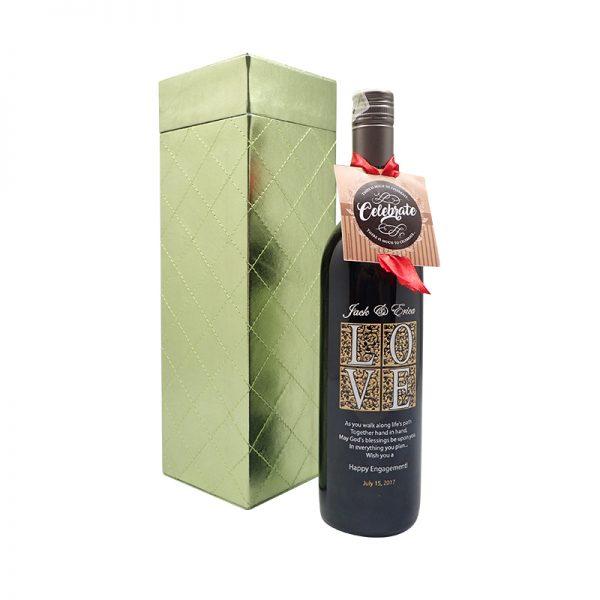 Wine Hadiah Pernikahan & Hadiah Valentine