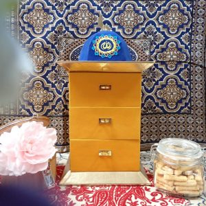 Yellow Havana Cookies Cabinet