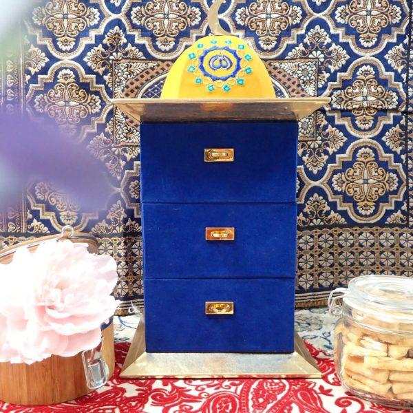 Blue Havana Cookies Cabinet