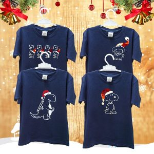 T - Shirt Christmas Character Custom Design | Christmas Gift Ideas