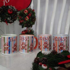 Coffee Mug Christmas Ginger Bread | Christmas Gift Ideas
