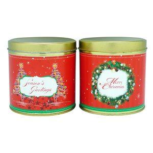 Christmas Cookies Tin | Christmas Cookies - Christmas Gift