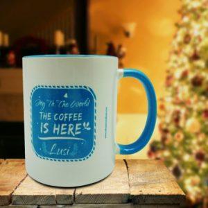 Coffee Mug Christmas Joy