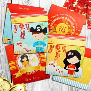 Chinese New Year Custom Angpao Envelopes | Chinese New Year Gifts