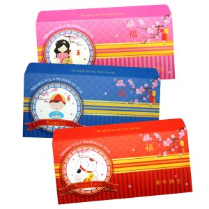 Chinese New Year Custom Prosperity Angpao Envelopes