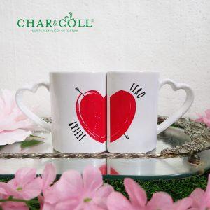 Valentine Couple Coffee Mug Love Struck | Valentine Gift Ideas