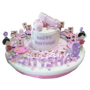 Jual Kue Ulang Tahun Custom Ballerina